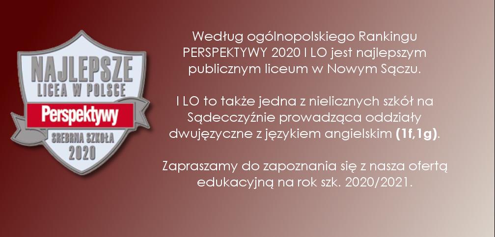 REKRUTACJA 2020/2021 W I LO!