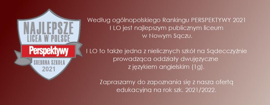 REKRUTACJA 2021/2022 W I LO!